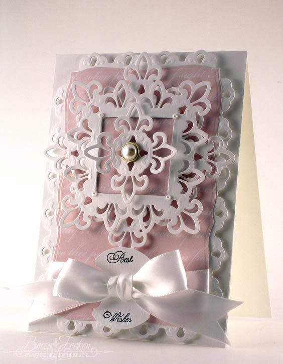 So delicate and pretty ... and great for so many different occassions ... BY http://www.amazingpapergrace.com/page/273/