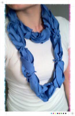 infinity t-shirt scarf.  yeah baby.