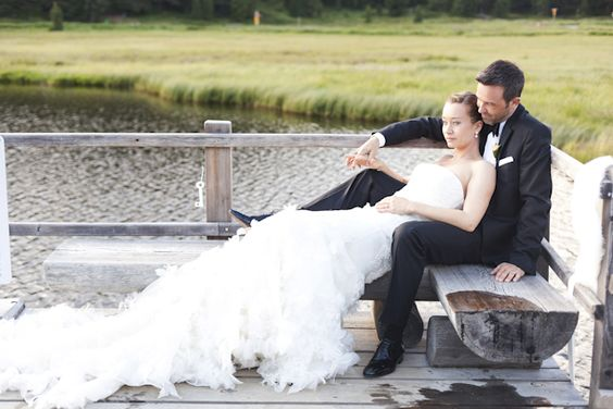 WAS FÜR EIN WUNDERSCHéNES KLEID <3 Bezaubernde St. Moritz Hochzeit von The Wedding Day