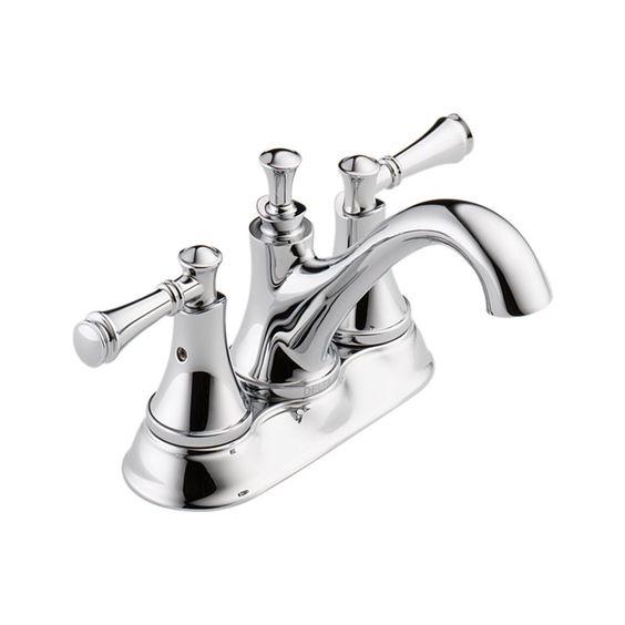 25713lf silverton two handle centerset lavatory faucet bath products delta faucet kids for Delta two handle bathroom faucet