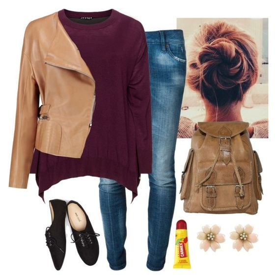 """""""Hm"""" by a-dance02 ❤ liked on Polyvore featuring Dsquared2, Jette, Chloé, Wet Seal, Carmex, women's clothing, women, female, woman and misses"""