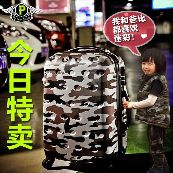Camouflage personalizado masculino filho mala bagagem bonde cofre aluna maré caster 20 24 polegadas 28-in Bagagem & Malas de Viagem de Bagagem & Bags no Aliexpress.com | Alibaba Group