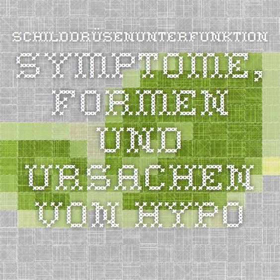 Schilddrüsenunterfunktion - Symptome, Formen und Ursachen von Hypothyreose