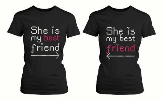 2020 National Best Friend Day 16 Awesome Gifts For Best Friends In 2020 Best Friend T Shirts Best Friend Matching Shirts Best Friend Shirts