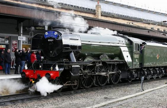 The Flying Scotsman will steam to Salisbury, Southampton and Eastleigh (From )