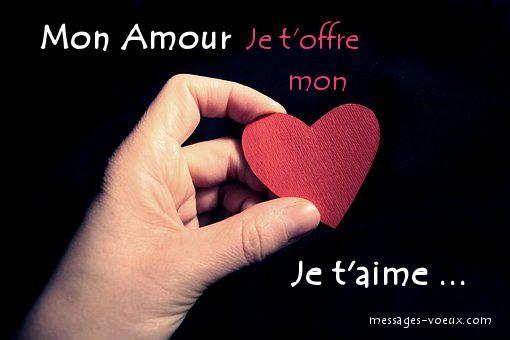 Message Je Taime Mon Coeur Original Avec Humour Et