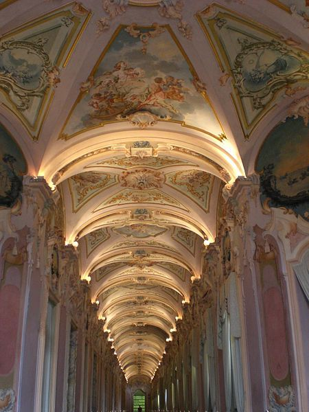 la galleria di stucchi,  in the Palazzo Pianetti in the Italian town of Jesi / #iluminacion #silcoproyectoglobal