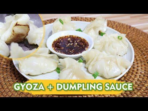 Resep Gyoza Dumpling Sauce Cara Buatnya Gampang Banget Gyoza Recipe Youtube In 2020 Dumpling Sauce Gyoza Dumpling