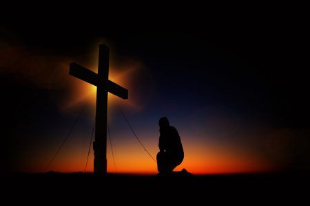 #Cross #Silhouette #Religion #Humility