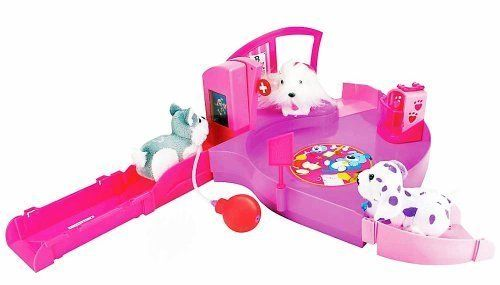 Zhu Zhu Puppies Vet Playset By Character Options Kyrstore Pet Vet Pet Toys Playset