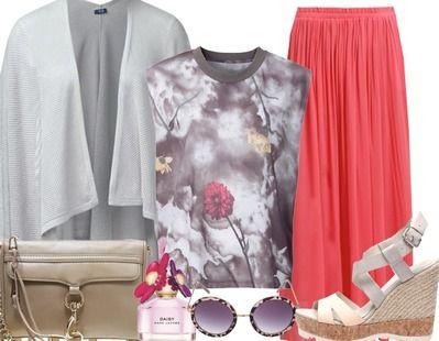 De maxi rok is helemaal van nu. Ga voor een exemplaar in een elle kleur en laat de rest van je outfit lekker rustig. Voeg een paar wedges toe en een grote zonnebril en je ziet er fantastisch uit!