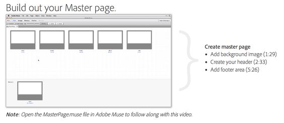 Genius idea for showcasing what's in a video. I hate watching videos, they're too often too slow. With this, I know where to scroll to. Problem solved!!  By Adobe, for muse