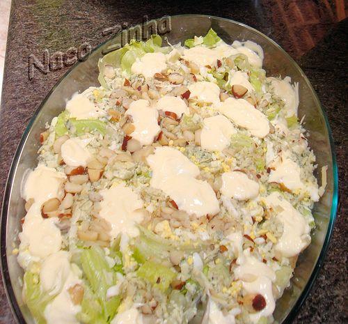 Salada de gorgonzola e castanha » NacoZinha - Blog de culinária, gastronomia e flores - Gina