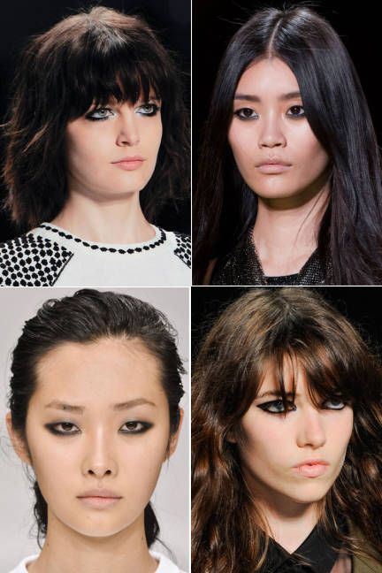 Spring runway beauty trends: full eyeliner