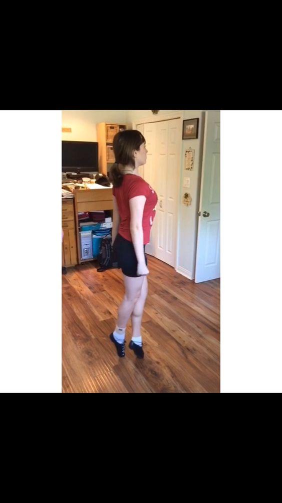 My toe height