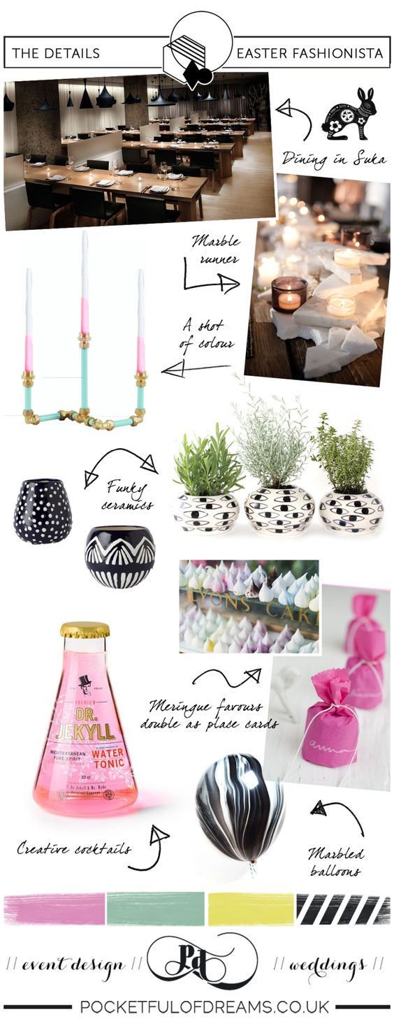 Bridal Inspiration Boards #72 ~ Easter Fashionista | Love My Dress® UK Wedding Blog