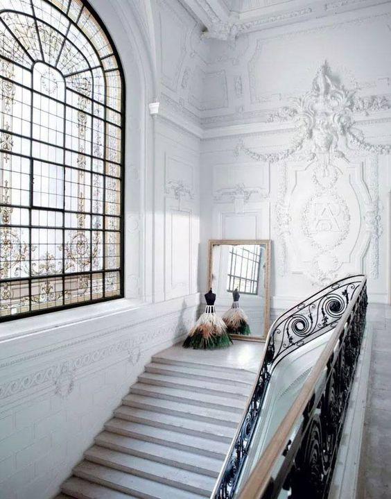 Escalier atelier Jean-Paul Gauthier
