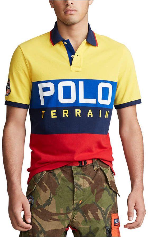Polo Ralph Lauren Men Logo Terrain Knit Polo Shirt Polo Ralph Lauren Outfits Polo Ralph Lauren Polo Ralph Lauren Mens