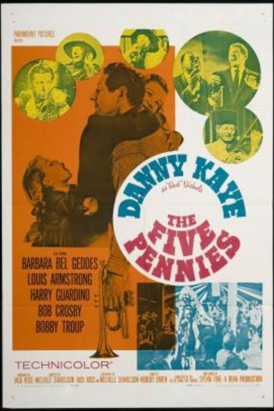 Danny Kaye poster- The Five Pennies
