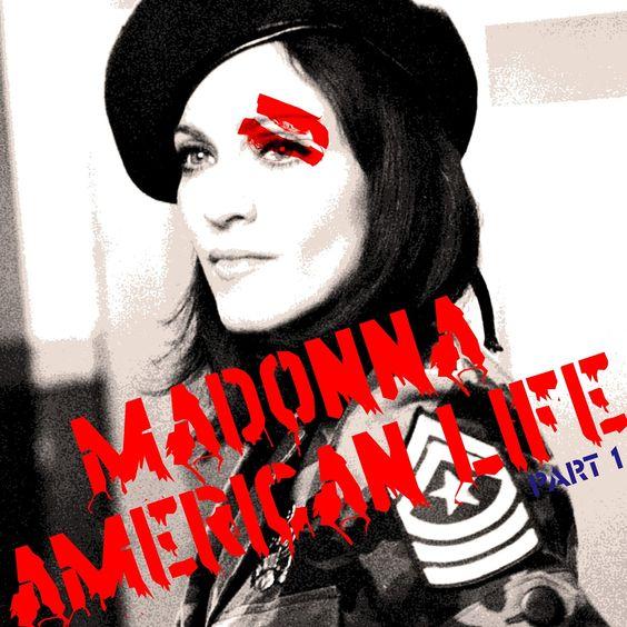 Madonna – American Life (single cover art)