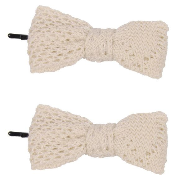 Crochet Bow Pins - Forever 21 - Polyvore