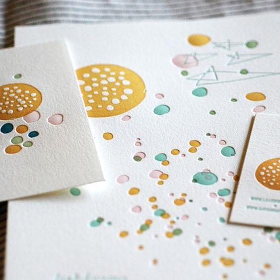 Outer Space by Leah Duncan  Satsuma Press Letterpress Print