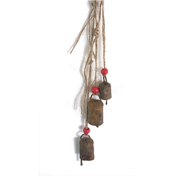 Small Decorative Bells Vintage Bellsrusty Metalporch Decorsmall Bellsantique Bells