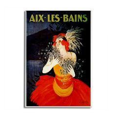 Aix-les-Bains France Rectangle Magnet> Aix-les-Bains France Travel Art> Evolve Shop #Magnets