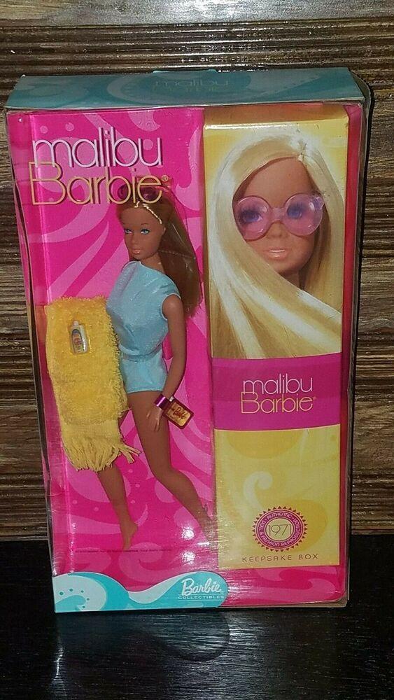 2001 Malibu Barbie 1971 Reproduction