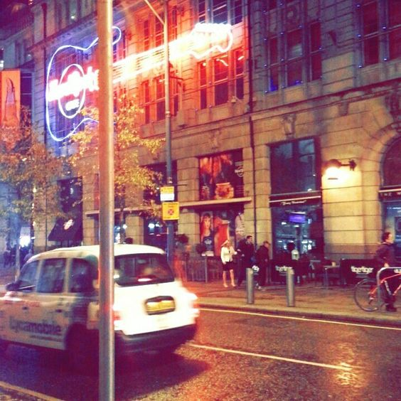 A street in manchester.