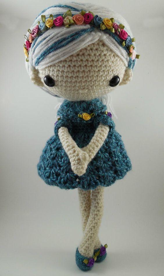 Amigurumi Doll Pdf : Amigurumi doll and crochet patterns on pinterest