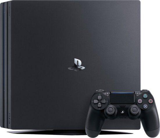 Sony Playstation 4 Pro Console Jet Black 3003346 Ps4 Pro Console Playstation 4 Playstation