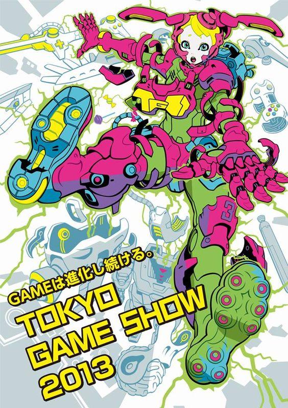 okyo Game Show 2013 by artist Ippei Gyoubu http://pinterest.com/creativeuncut/