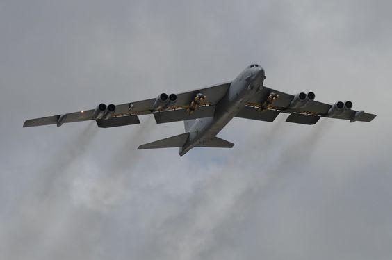 B-52 cargado