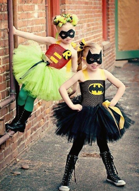 Fantasias de carnaval para meninas super poderosas:
