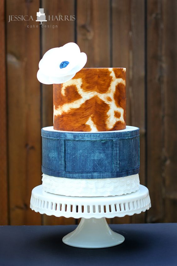 30 Cake Textures & Techniques - Jessica Harris Cake Design