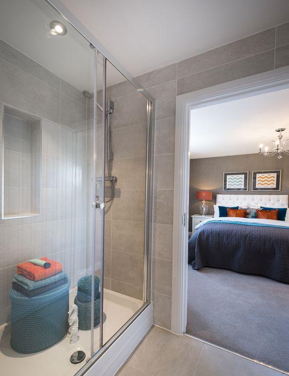 En suite to double bedroom.