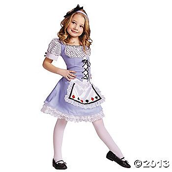 Alice Toddler's Costume