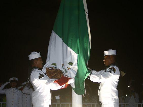 La bandera de México ondea en los Juegos Centroamericanos y del Caribe Veracruz 2014