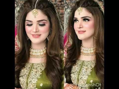 Pakistani Wedding Makeup Hairstyles Birdal Makeup Party Makeup Youtub Pakistani Bridal Makeup Hairstyles Pakistani Makeup Party Wedding Party Hairstyles