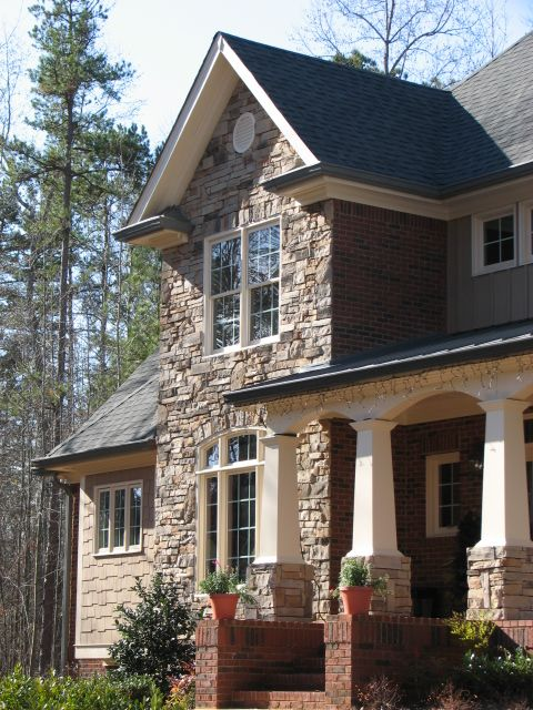 Craftsman style craftsman and wood siding on pinterest for Architectural wood siding