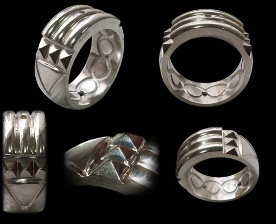 925 Solid Sterling Silver Atlantis Ring ALL SIZES by Silveralexa