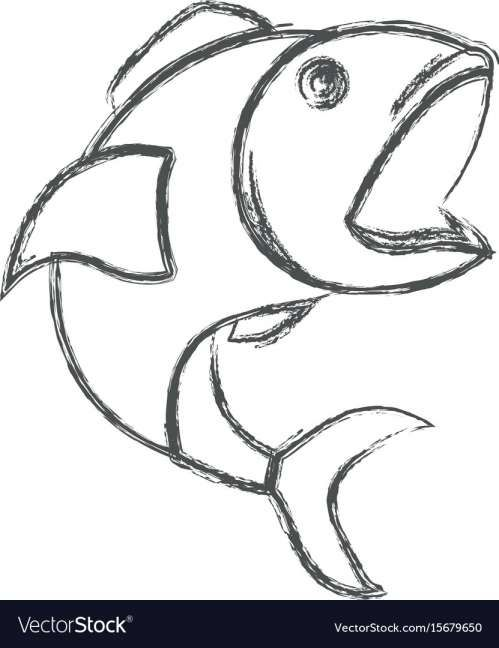 15 Fish With Open Mouth Line Drawing Png Open Mouth Drawing Line Drawing Fish Drawings