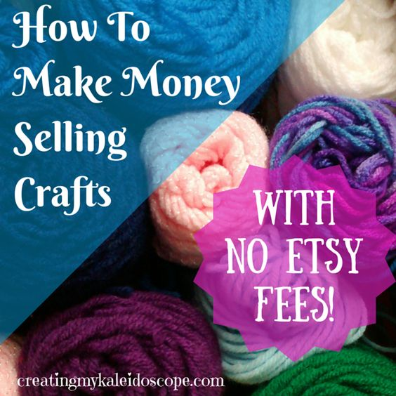 How to make money selling crafts with no etsy fees my for Money making crafts to sell