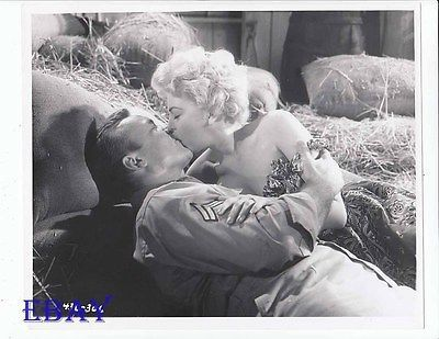 Aldo Ray Barbara Nichols VINTAGE Photo The Naked And The Dead