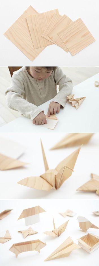 吉野の森の端材で作られた「パパと子ども」のおもちゃ【PaPaCo YOSHINO】: