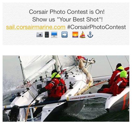 "The Corsair Photo Contest is on! Show us ""Your Best Shot""! Participate Now: http://sail.corsairmarine.com/your-best-shot-corsair-photo-contest/ #CorsairPhotoContest #corsair #corsairmarine #sail #sailing #catamarans #cats #trimarans #tris #ocean #nautical #dash750 #dash750mkii #sprint750 #cruze970 #c28 #c31 #c37 #c50"