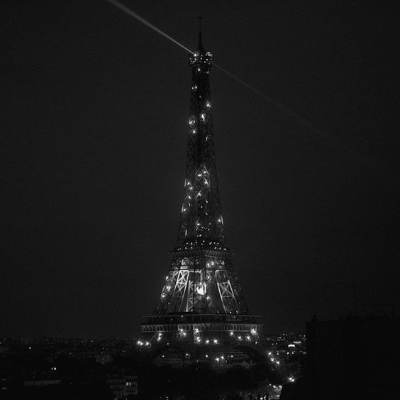 #eiffeltower #blackandwhite #nightphoto #cityoflights #paris #toureiffel #nikon #d7100