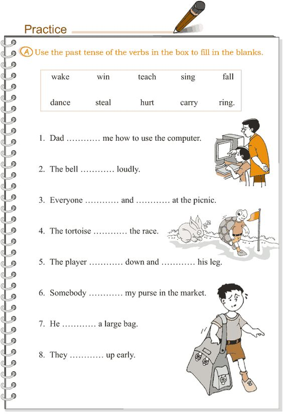 past tense worksheets for grade 2 pdf