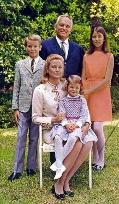 Grace Kelly - children